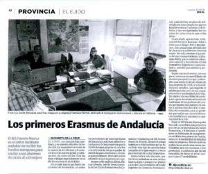 Alumnos Erasmus+ del Ciclo de Comercio Internacional