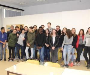 Dos alumnos Erasmus, terminan su trimestre de estudios en Francia