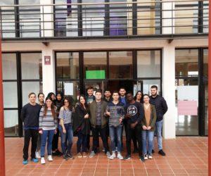 Cinco estudiantes Erasmus en nuestro Centro