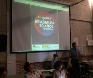 Información del Proyecto Erasmus + K101 al profesorado