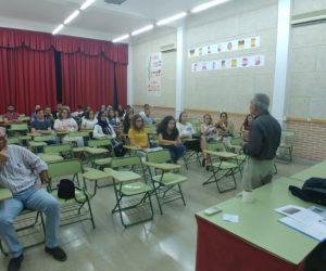 Visita de 3 profesores franceses del centro educativo St Gabriel.