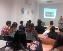 Alumnado de 1º Bachillerato visita el C.A.D.E. de El Ejido.
