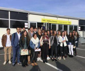 Pasan el ecuador de su estancia en Francia los becarios de Comercio Internacional