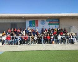 El alumnado de 4º de la ESO en la UAL