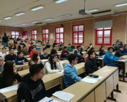 Tres alumnos del Fuente Nueva compiten en la Olimpiada Matemática