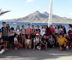 Excursión al Parque Natural de Cabo de Gata-Níjar del grupo de Ecoescuelas curso 2018/19