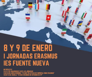 I Jornadas Erasmus movilidades Formación Profesional