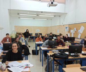 Erasmus franceses se forman en nuestro Centro