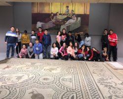 El alumnado visita la exposición sobre nuestro el pasado romano