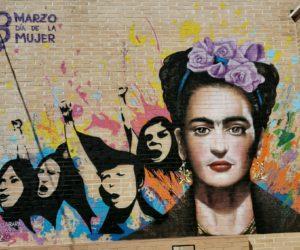 Nauni nos hace un graffiti por el día internacional de la mujer