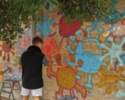 Taller de Graffiti contra la violencia de género