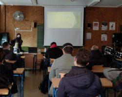 Almerifresh imparte una charla al alunado de Ciclos sobre su plan de Prevención en Riesgos Laborales