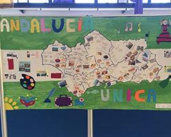 Video y mural por el Día de Andalucía realizado por el alumnado de ESPA nivel II
