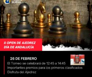 """II Open de Ajedrez """"Día de Andalucía"""""""