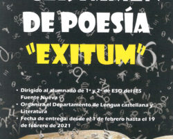 """Poesías ganadoras en el I Certamen """"EXITUM"""""""