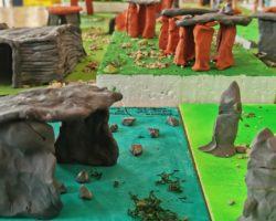 Maquetas de Construcciones Megalíticas