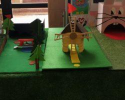 Exposición de mini-golf