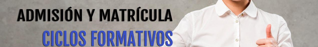 Matricula-Ciclos