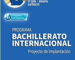El Centro presenta la Solicitud para impartir Bachillerato Internacional